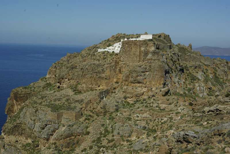 Kythnos: the Castle